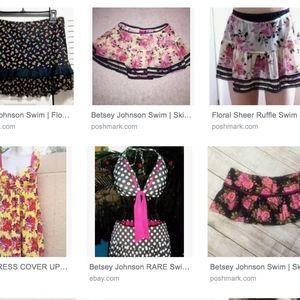 Betsey Johnson Swim Cover Up Skirt